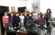 Децата од ООУ ,, Ванчо Китанов '' - Пехчево, во посета на Локалната самоуправа