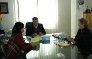 Претставници на Организацијата на жени на Пехчево во посета на градоначалникот Поповски