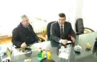 Министерот за земјоделство шумарство и водостопанство Љупчо Димовски, во работна посета на општина Пехчево