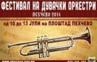 Фестивал на дувачки оркестри Пехчево 2014