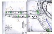 Скица на 10-те градежни парцели за продажба на туристичката населба ,, Равна Река ''