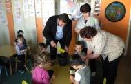 """Проектот ,, Садница плус """" започна со реализација во образовните институции во Пехчево"""