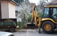 Започна уредувањето на шест пешачки улици со бехатон плочки во градот Пехчево
