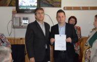 Доделени уверенијата на новата локална власт во Пехчево