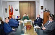 Заменик министерот за локална самоуправа Дејан Павлески во посета на Пехчево