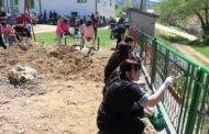 """Успешно реализирана работната акција """"Заедно до поголеми детски насмевки"""" во село Црник"""