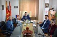 Градоначалникот на општина Симитли оствари работна средба со градоначалникот Тренчовски