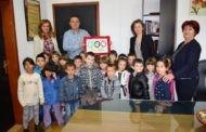 Градоначалникот Тренчовски организираше прием на дечињата од градинката по повод Светска недела на детето