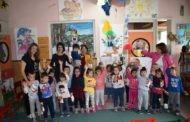Одбележан месецот на книгата во пехчевската градинка 7 Септември