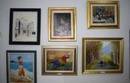 Ликовната изложба на Лена Ѓуриќ привлече внимание кај пехчевската публика