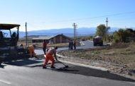 """Започна асфалтирањето на дел од Ул. """"1"""" во индустриската зона ЧУКАТА во Пехчево"""