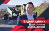 Отчет - Две години градоначалник на општина Пехчево Драган Тренчовски