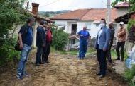 Градоначалникот Тренчовски изврши увид во досегашниот тек на изградбата на улиците во село Робово