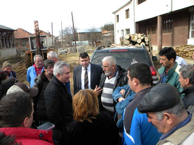 Денес Министерот за земјоделство шумарство и водостопанство Љупчо Димовски, беше во посета на општина Пехчево. Димовски оддржа средба со градоначалниот на општина Пехчево Игор Поповски.