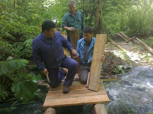 водопади реконструкција
