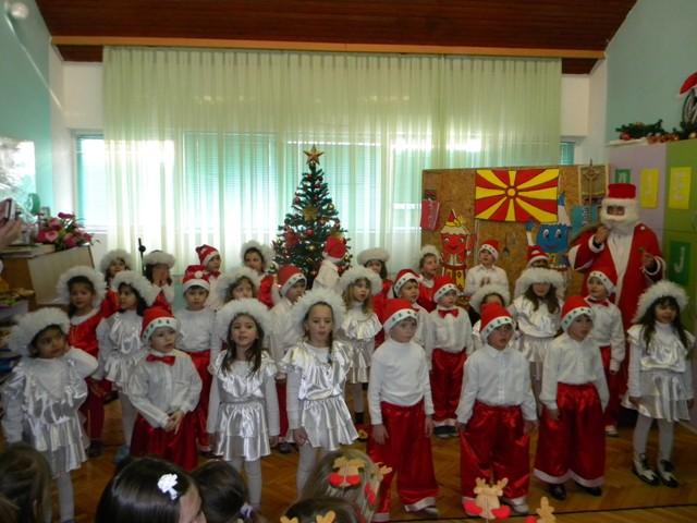 Во пресрет на новогодишните празници најмладите во оваа установа, денес на нивната прослава ги посети градоначалникот  на општина Пехчево, Игор Поповски.