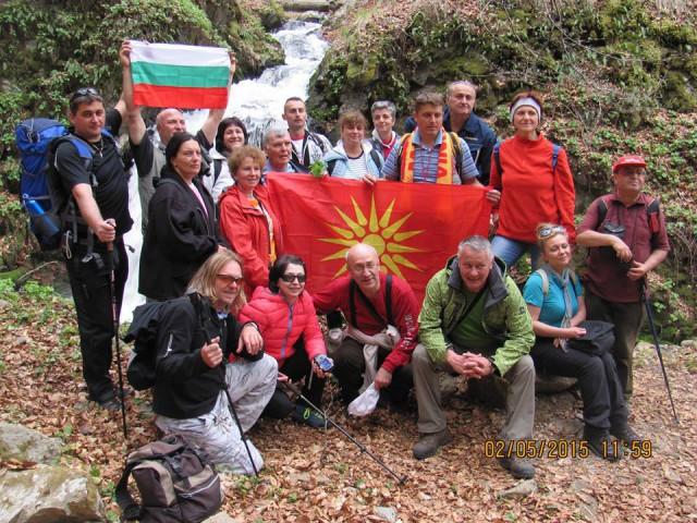 """Во организација на Планинарското спортско друштво ,, Кадиица """" - Пехчево, вчера беше реализиран Меѓународен планинарски марш до Пехчевските водопади."""