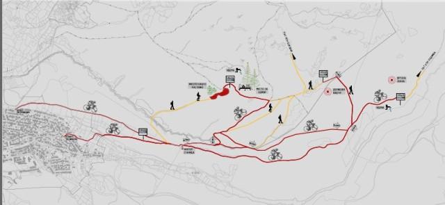 """Со огромно задоволство Ве известуваме дека велосипедската патека """"Убавините на Пехчево на велосипед"""" која што е направена во рамки на проектот """"Промовирање на интегриран пристап за одржливо управување со карактеристичните природни ресурси во Пехчево"""",проект кој е дел од Програмата за зачувување на природата во Македонија, а чиј имплементатор е Здружението за одржлив развој Милиеуконтакт Македонија, е подготвена да Ве пречека и почести со своите убавини."""