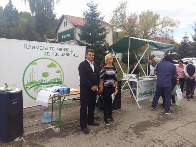Во центарот на Пехчево денеска беше реализирана втората кампања на Проектот на УСАИД за Општински стратегии за климатски промени, спроведуван од Милиеуконтакт Македонија.