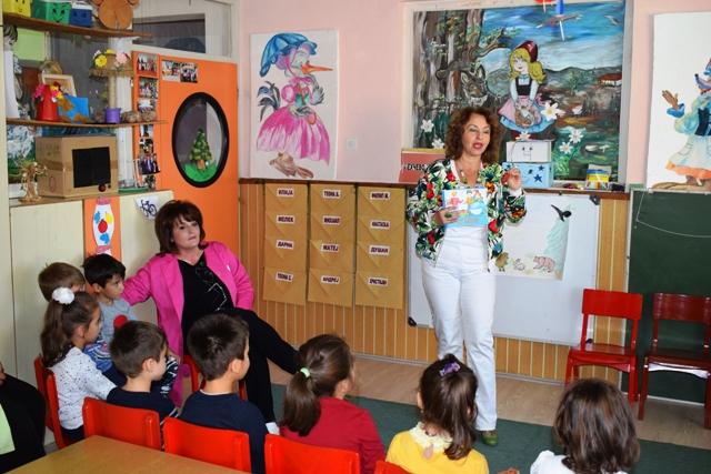 """Месецот на книгата одбележан во пехчевската градинка """"7 Септември"""""""