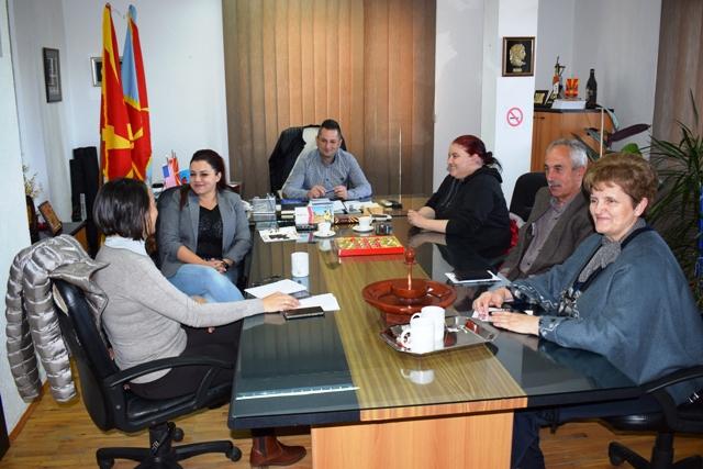 Средба на градоначалникот со граѓанските и невладините организации од општината