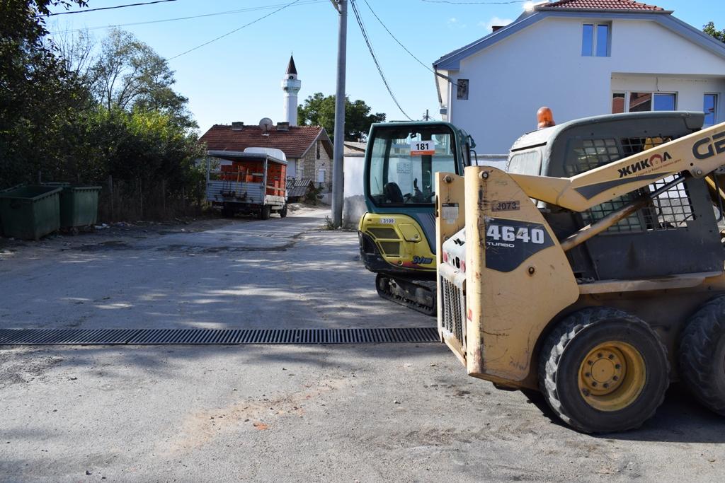 улица изградба Црник