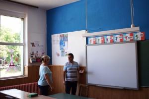 """Со реконструкцијата на внатрешноста во ООУ.""""Ванчо Китанов"""" се создаваат современи услови за настава во Пехчево"""