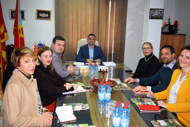 Работна средба со Заменик амбасадорот на Швајцарија Н. Е. Стефан Томаџан и претставници од Програмата за развој на Обединетите нации (УНДП)